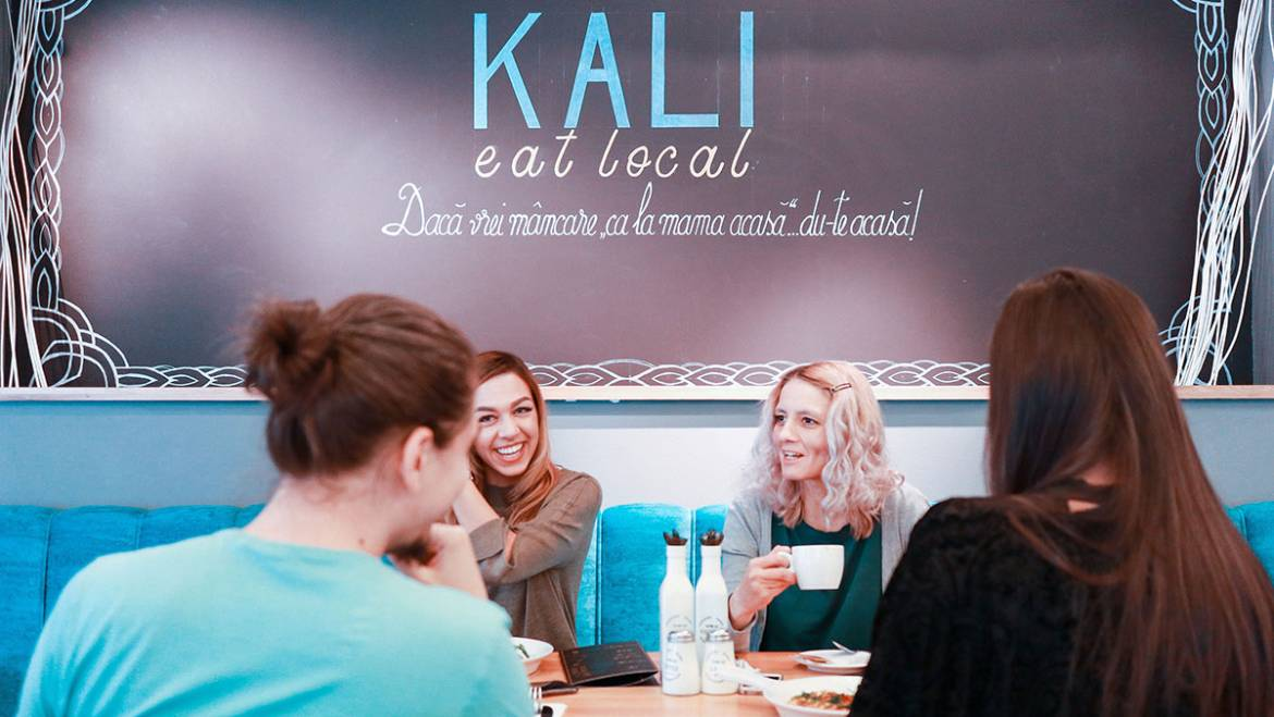 O zi din viață la KALI eat local
